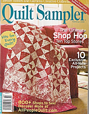 Quilt Sampler - Fall/winter 2008
