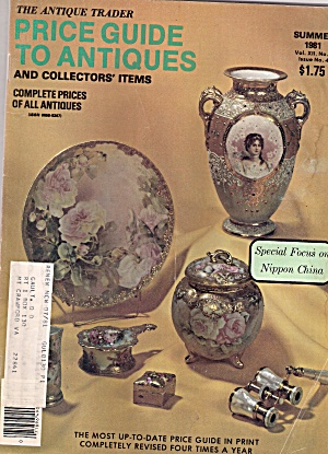 The Antique Trader Price Guides To Antiques - Summer 19