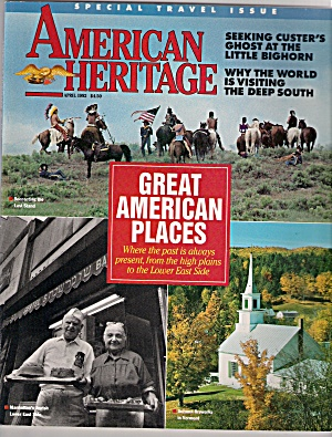 American Heritage -  April 1992 (Image1)
