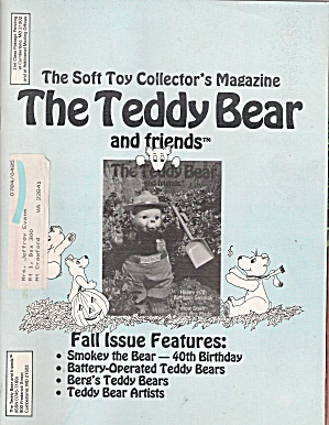 The Teddy Bear and friends -  Fall 1984 (Image1)