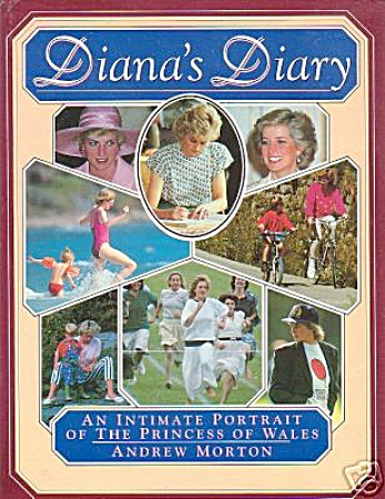 PRINCESS DIANA'S DIARY~BOOK by Andrew Morton (Image1)
