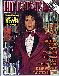 Hit Parader Magazine -  April 1985 (Image1)