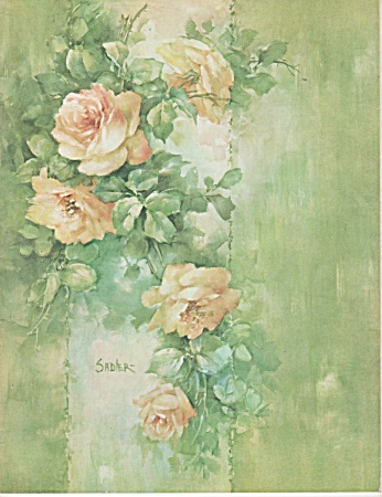 JEAN SADLER~CATALOG~China Painting ~1968~OOP (Image1)