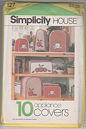 APPLIANCE COVERS~TOASTER ETC~1983-OOP (Image1)