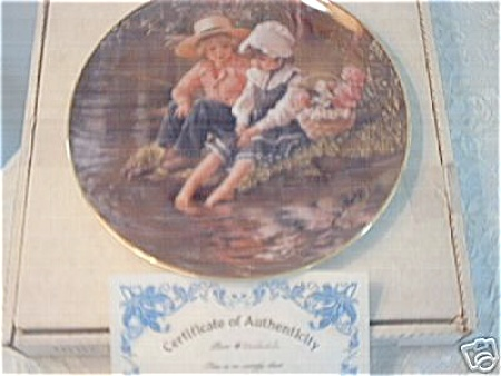 LITTLE ANGLERS BY SANDRA KUCK  BOX AND COA (Image1)
