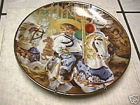 KUCK~CAROUSEL OF DREAMS~PLATE (Image1)