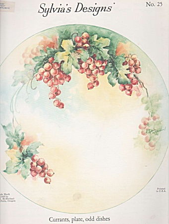 Currants - Plate - More - Sylvia Mcmichael - Study -