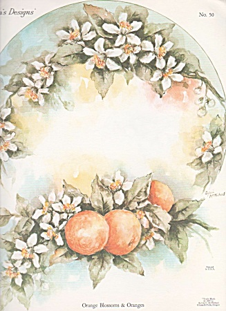 Orange Blossoms - Sylvia Mcmichael - Oop - 1960
