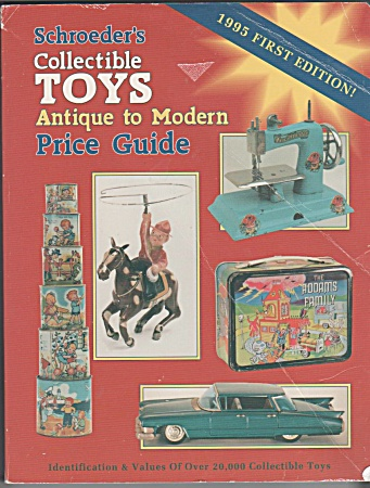 Schroeders - Toys Price Guide 1st Issue - Oop