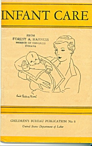 Infant Care - Dept. of labor publication -  1940 (Image1)