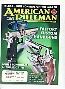 American Rifleman - August 1997 (Image1)