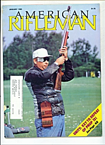 American Rifleman - January 1983 (Image1)