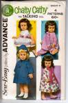 VINTAGE~ADVANCE~SEW-EASY~CHATTY CATHY~PATTERN