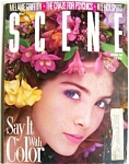 1988 SCENE Women Fashion Magazine