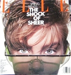 Click here to enlarge image and see more about item 010401EL8: ELLE Magazine FEB 1989 Vogue Fashions