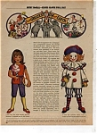 1971 Betsy McCall CIRCUS Paper Doll UNCUT