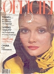 OFFICIEL Magazine GIA CARANGI APR 1979