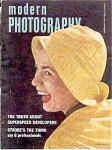Modern Photography Magazine 1952 Pin up ADS