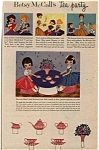 Click here to enlarge image and see more about item 013105G9S: 1957 Betsy McCall Amer. Character DOLL AD + +