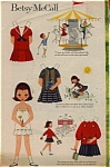 1968 Betsy McCall SUMMER DAYS Paper Dolls UNC