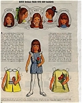 1971 Betsy McCall New Hairdo Paper Doll UNCUT