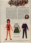 1965 Betsy McCall Paper Doll LETTER FROM CAMP