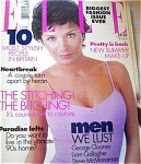 1997 UK ELLE Magazine Helena Christensen
