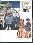 Click to view larger image of VOGUE LITTLE Girls Dress Sz 2Transfer PATTERN (Image1)