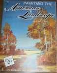 Click here to enlarge image and see more about item FB145: Foster AMERICAN Landcape Painting Book 145