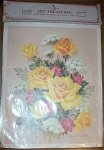 Click here to enlarge image and see more about item 032204UUW: ART Treasures for Decoupage Crafts ROSES MIB