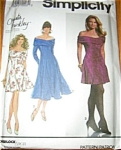 Click here to enlarge image and see more about item 7618N: Simplicity Christie Brinkley Pattern UNCUT XL