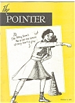 Click here to enlarge image and see more about item 040903D: West Point USMA POINTER Magazine 1951Camel AD