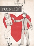 Click here to enlarge image and see more about item 040903G: West Point USMA POINTER Magazine 1952 ADS
