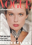 Vogue UK Magazine MARCH 1983 Fashions