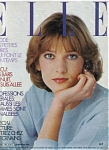Click here to enlarge image and see more about item 041004C-M1618: Elle FRANCE Magazine February 1980 Foreign