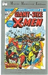 Click here to enlarge image and see more about item 0423: GIANT-SIZE X-MEN - MARVEL MILESTONE EDITION (1991)