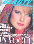 RARE 1982 Vogue UK Beauty Magazine