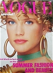 Vogue UK Magazine 1986 LeBon Christy Renee
