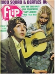Click here to enlarge image and see more about item 071104C: 1969 FLIP TEEN Magazine BEATLES - Mod Squad
