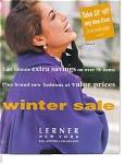 Click here to enlarge image and see more about item 072004XT: 1993 Lerner New York Women's Fashion Catalog