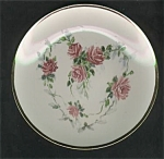 Click here to enlarge image and see more about item 091703EE: HP Heart of Roses 1890 Design PorcelainPlate