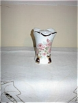 Click here to enlarge image and see more about item 091803EEP: Porcelain Hatpin Holder Cabbage Roses HP