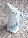 Click here to enlarge image and see more about item 092903D: Porcelain Hand Painted CUSTOM Pitcher