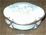 Click here to enlarge image and see more about item 093003V: Limoges Style Hand Painted Dresser Box