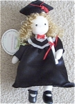 Green Tree Musical Graduation Doll Black gown