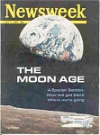 Click here to enlarge image and see more about item 102902K1: Newsweek Magazine 1969 THE MOON TRIP