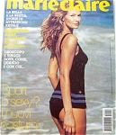 Click here to enlarge image and see more about item 110404RE: 1994 MARIE CLAIRE ITALIAN  Magazine KAREN MUL