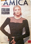 Click here to enlarge image and see more about item 110704QP: RARE AMICA ITALIAN FASHION Magazine YASMIN Le