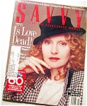 1987 SAVVY Women's Magazine Fashions +++