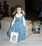 Click here to enlarge image and see more about item 111404B: INTERNATIONAL DOLL MAKERS ASSOC.Doll